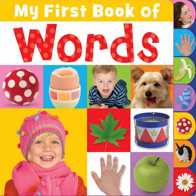 My First Book of Words - My First Mini Tabbed (Board book)
