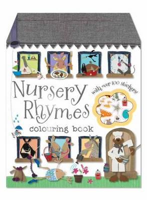 Nursery Rhymes Colouring Book - Colouring and Sticker Books (Paperback)
