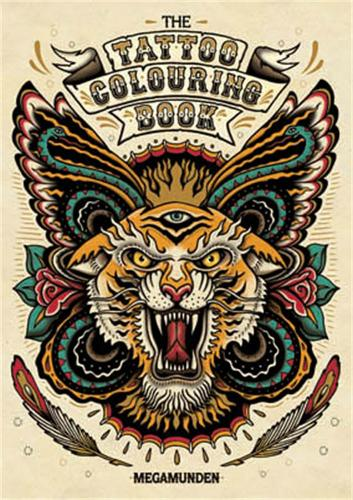 Tattoo Colouring Book (Paperback)