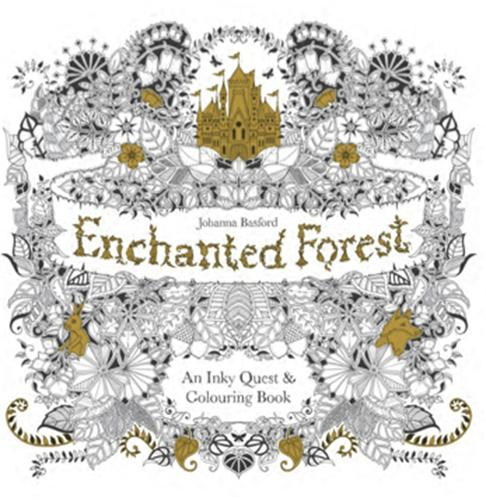 Enchanted Forest By Johanna Basford Waterstones
