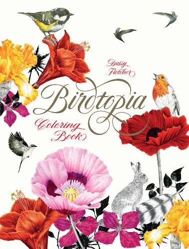Birdtopia: Colouring Book (Paperback)