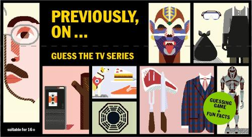 Previously, On...: Guess the TV Series - Magma for Laurence King