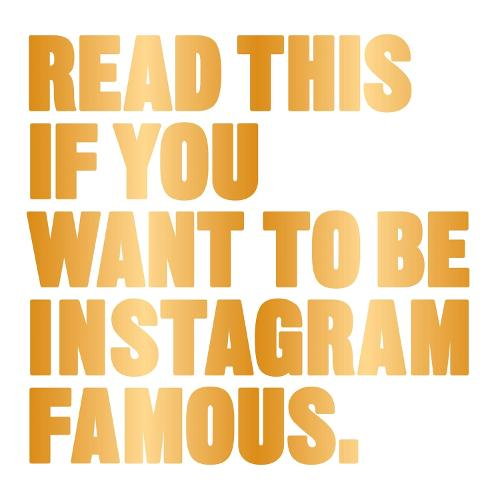 Read This if You Want to Be Instagram Famous (Paperback)