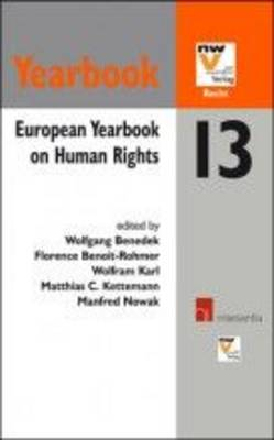 European Yearbook on Human Rights 13 (Paperback)