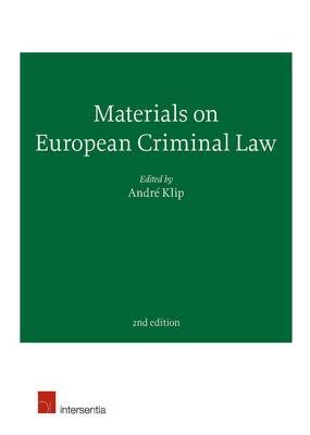Materials on European Criminal Law (Paperback)