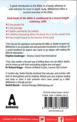 @bibleintro: A Bible Handbook for the Twitter Generation (Paperback)