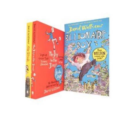 David Walliams Collection. The Boy in the Dress, Mr Stink & Billionaire Boy (Paperback)