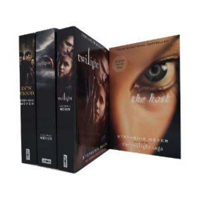 Stephenie Meyer Twilight Saga Collection: WITH Twilight AND Eclipse AND New Moon AND the Host (Paperback)
