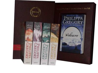 Philippa Gregory Collection Gift Set: Wideacre, the Favoured Child, Meridon, Fallen Skies & the Wise Woman (Paperback)
