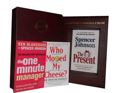 Spencer Johnson, 3 Books Collection Pack Set: (The Present: the Gift That Makes You Happy and Successful at Work and in Life, The One Minute Manager - the One Minute Manager & Who Moved My Cheese: an Amazing Way to Deal with Change in Your Work and in Your Life) (Paperback)