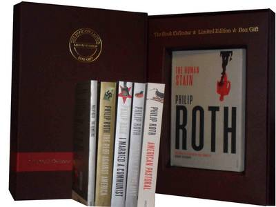 Philip Roth 6 Books Collection Pack Set: (American Pastoral, The Human Stain, I Married a Communist, Pprtnoy's Complaint, The Plot Against America & The Humbling) (Paperback)