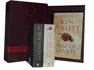 Ken Follett Collection: Pillars of the Earth and World without End & (hardcover ) Fall of Giants (Hardback)