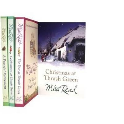 Miss Read Thrush Green Series Collection: Year at Thrush Green, Christmas at Thrush Green, Celebrations at Thrush Green, a Peaceful Retirement. (Paperback)