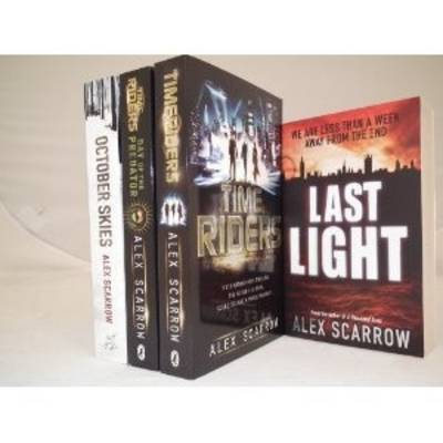 Alex Scarrow Collection: October Skies, Last Light, Time Riders (book 1) & Time Rider (book 2) (Paperback)