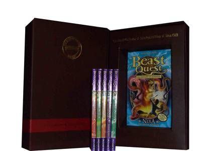 Beast Quest Pack: Blaze the Ice Dragon, Equinus the Spirit Horse, Luna the Moon Wolf, Nixa the Death Bringer, Rashouk the Cave Troll, Stealth the Ghost Panther Series 4 (Paperback)