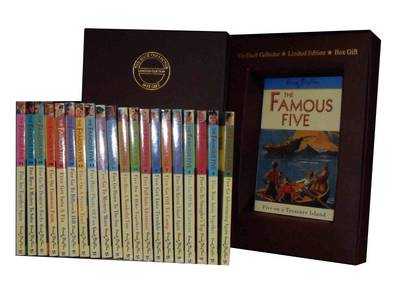 Enid Blyton Famous Five Series: Five on Treasure Island, Five Go Adventuring Again, Five Run Away Together, Five Go to Smuggler's Top, Five Go Off in a Caravan - More, (Paperback)