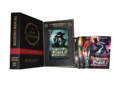 Skulduggery Pleasant Collection: Skulduggery Pleasant, Playing with Fire, the Faceless Ones, Dark Days & Mortal Coil (Paperback)