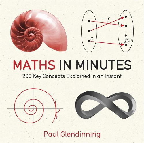 Maths in Minutes: 200 Key Concepts Explained In An Instant - In Minutes (Paperback)