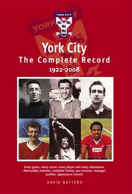 York City: The Complete Record 1922-2008 (Paperback)