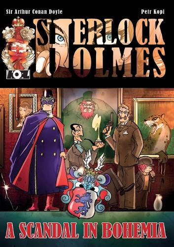 A Scandal in Bohemia - A Sherlock Holmes Graphic Novel (Paperback)