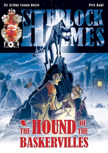 The Hound of the Baskervilles - A Sherlock Holmes Graphic Novel (Paperback)