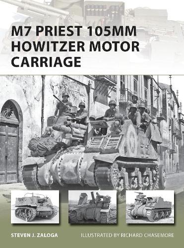 M7 Priest 105mm Howitzer Motor Carriage - New Vanguard 201 (Paperback)