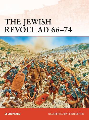 The Jewish Revolt AD 66-74 - Campaign 252 (Paperback)