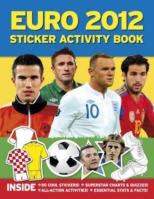 Euro 2012 Sticker Activity Book (Paperback)