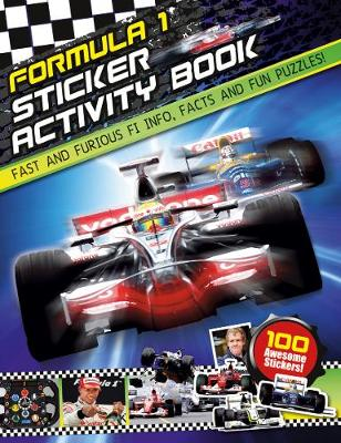 F1 Sticker Activity Book (Paperback)