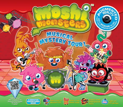 Moshi Monsters Musical Mystery Tour: An Augmented Reality Book (Hardback)