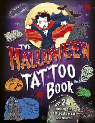 Halloween Tattoo Bk (Paperback)
