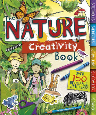 The Nature Creativity Book (Spiral bound)