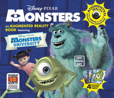 Monsters, Inc. Augmented Reality Book (Hardback)