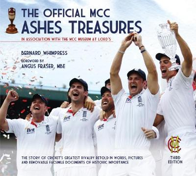 The Official MCC Ashes Treasures (Hardback)