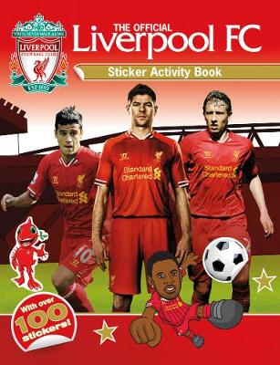The Official Liverpool FC Sticker Activity Book (Paperback)