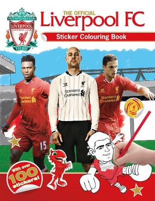 The Official Liverpool FC Sticker Colouring Book (Paperback)