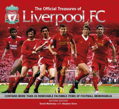 Official Treasures of Liverpool FC (Hardback)