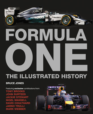 Formula One The Illustrated History by Bruce Jones Waterstones