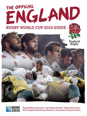 Official England Rugby Book (Hardback)