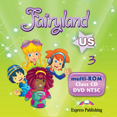 Fairyland US: MULTI-ROM 1 (Class CD/DVD NTSC) US Level 3 (DVD)