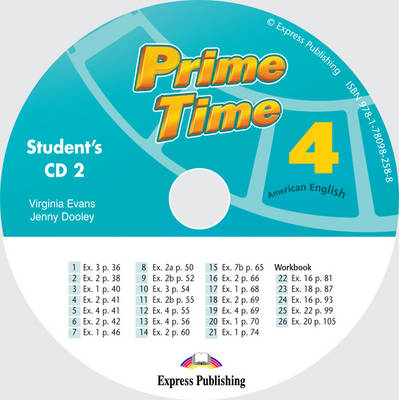 Prime Time US: Class CD 2 (US) Level 4 (CD-Audio)