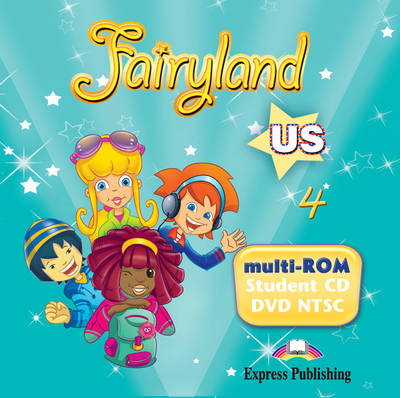 Fairyland US: MULTI-ROM 2 (Student CD/DVD NTSC) US Level 4 (DVD)
