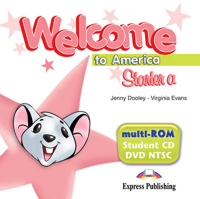 Welcome to America Starter a: MULTI-ROM (STUDENT'S CD/DVD NTSC) (US) (DVD)