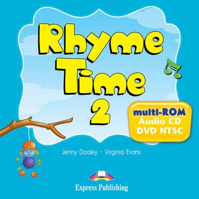Rhyme Time: MULTI-ROM (AUDIO CD/DVD NTSC) (US) Level 2 (DVD)