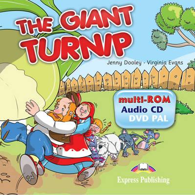The Giant Turnip: MULTI-ROM 1 (AUDIO CD/DVD PAL) (INTERNATIONAL) (DVD)