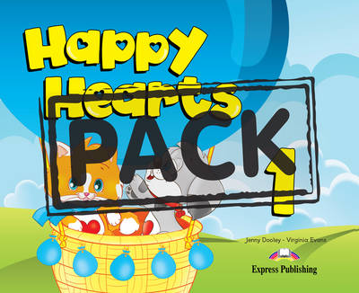 Happy Hearts 1: Pupil's Pack 8 (INTERNATIONAL)