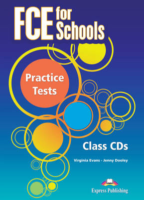 FCE for Schools Practice Tests: AUDIO CD'S (SET OF 3) (INTERNATIONAL) (CD-Audio)