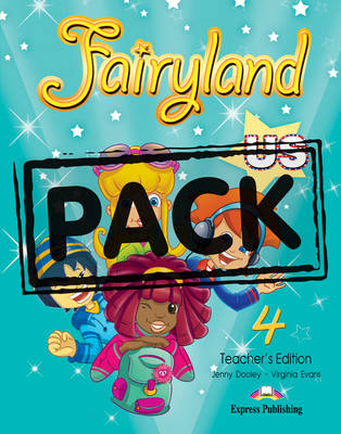 Fairyland US 4: Teacher's Book with Posters (US) (Paperback)