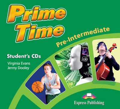 Prime Time Pre-Intermediate: Student's Audio CDs (set of 2) (INTERNATIONAL) (CD-Audio)