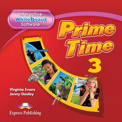 PRIME TIME 3: Interactive Whiteboard Software (CD-ROM) (INTERNATIONAL) (CD-ROM)